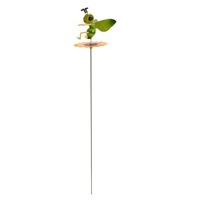 Kiwi Garden Plastic Insect with Sunflower Stake Assorted, , hi-res
