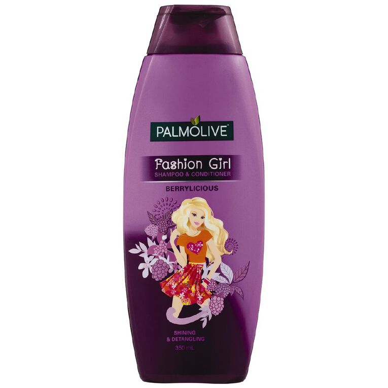 Palmolive Fashion Girl Berrylicious 2-in-1 350ml, , hi-res