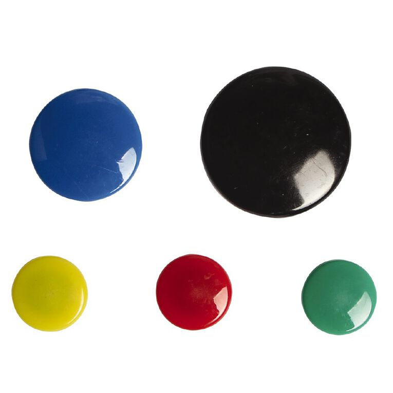WS Magnetic Buttons Assorted 50 Pack, , hi-res