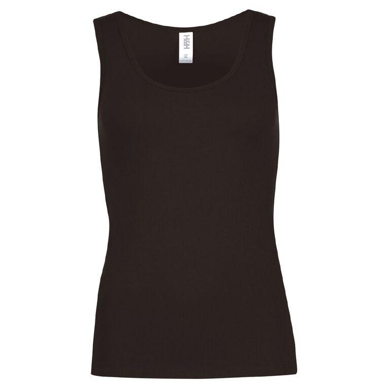 H&H Women's Bamboo Vest, Black, hi-res