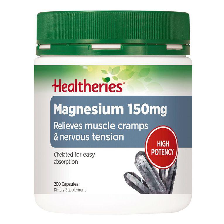 Healtheries Magnesium 150mg 200s, , hi-res