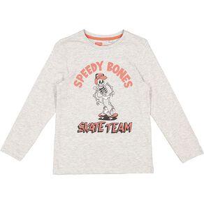 Young Original Boys' Long Sleeve Print Tee