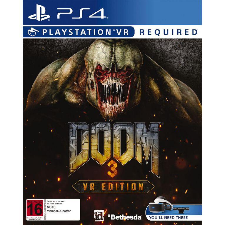 PS4 DOOM 3: VR Edition, , hi-res image number null
