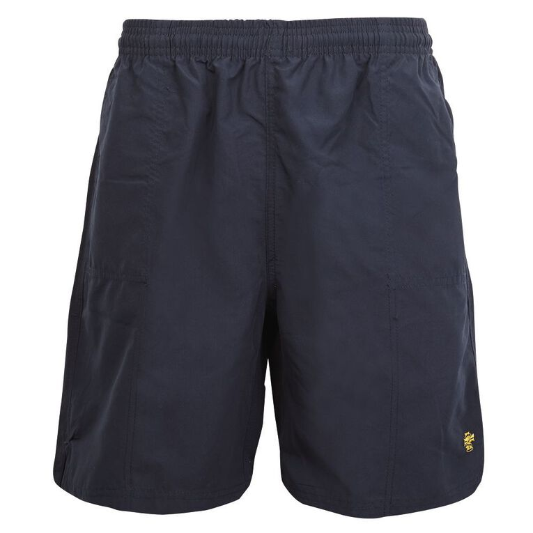 Schooltex Marcellin College PE Shorts with Embroidery, Navy, hi-res