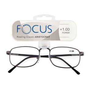 Focus Reading Glasses Aristocrat Power 1.00