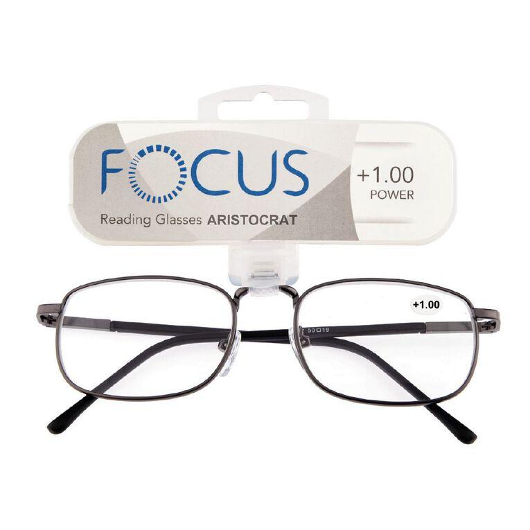 Focus Reading Glasses Aristocrat Power 1.00, , hi-res