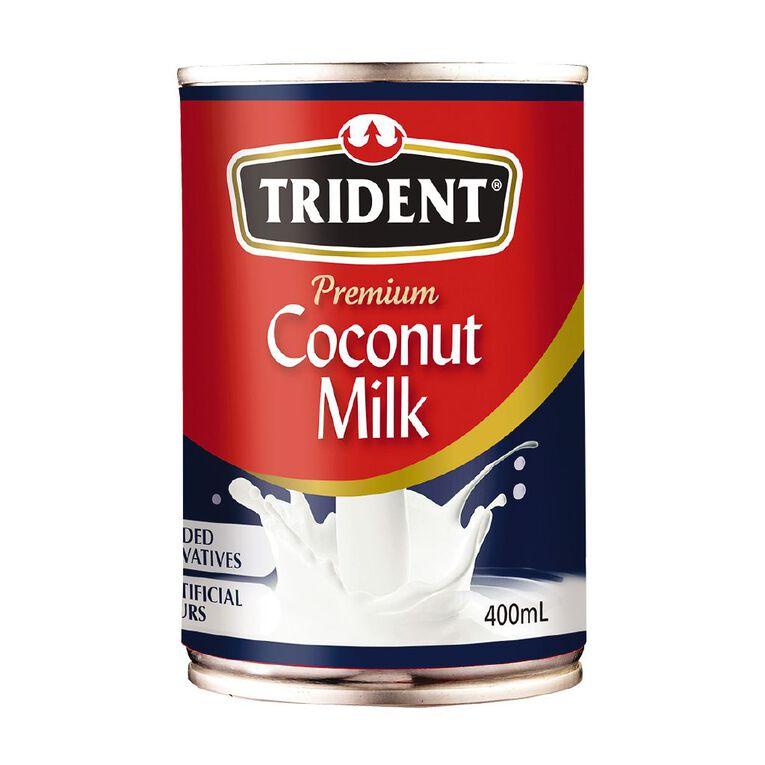 Trident Premium Coconut Milk 400ml, , hi-res