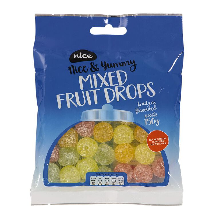 Nice Mixed Fruit Boiled Sweets 150g, , hi-res