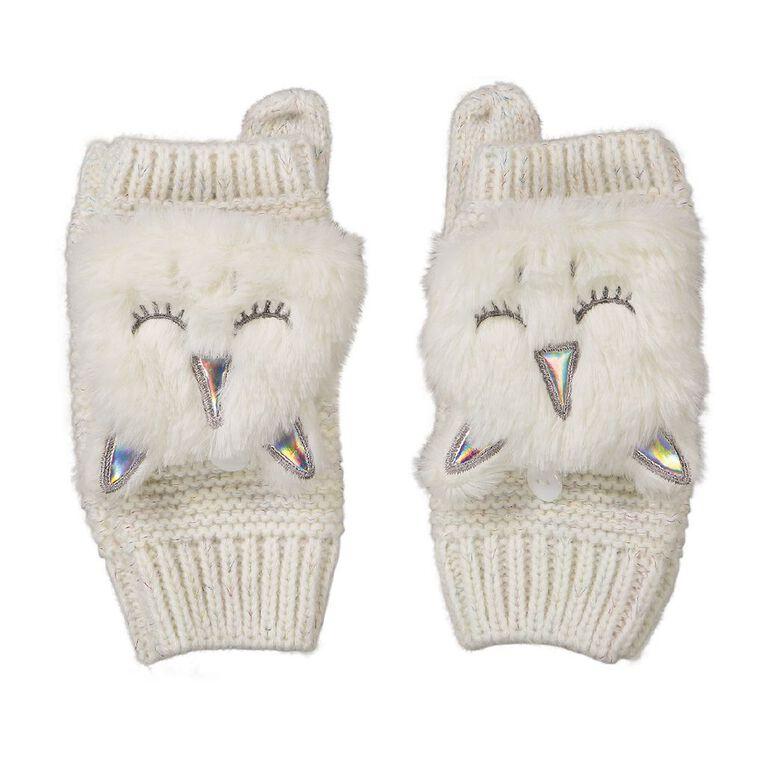 Young Original Kids' Novelty Gloves, White, hi-res