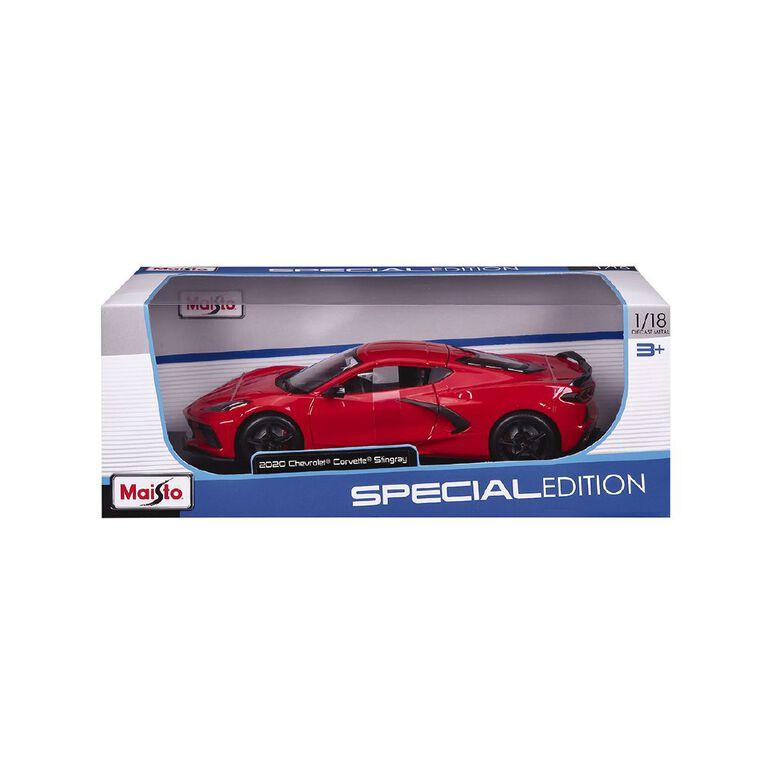 Maisto 1:18 Special Edition 2020 Chevrolet Corvette Stingray, , hi-res image number null