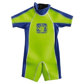 Body Glove Kids Rash Suit Green Size 6