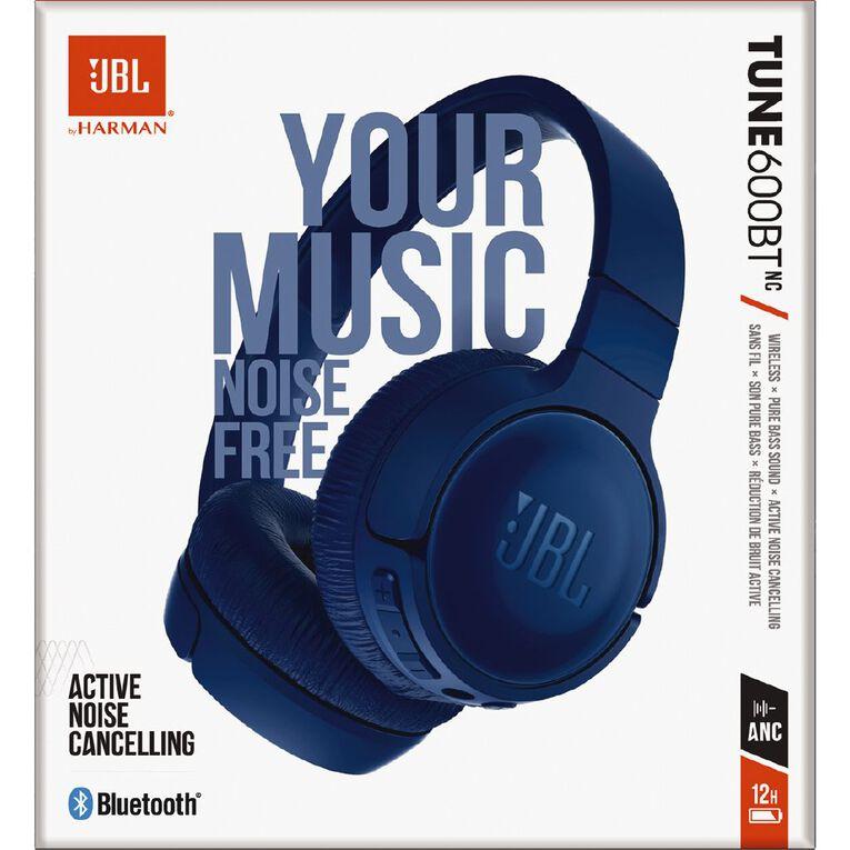 JBL T600BT On-Ear NC Wireless Headphones Blue, , hi-res