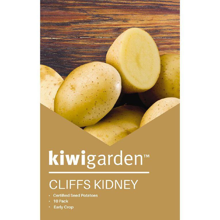 Kiwi Garden Seed Potato Cliff Kidney 10PK, , hi-res