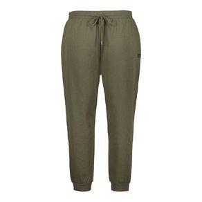 H&H Plus Women's Plus Rib Cuff Trackpants
