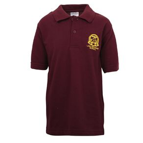 Schooltex Lake Brunner Short Sleeve Polo with Embroidery