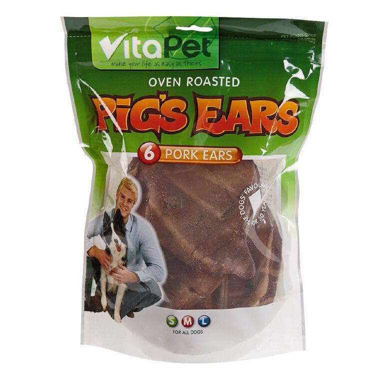 Vitapet Pigs Ears 6 Pack, , hi-res