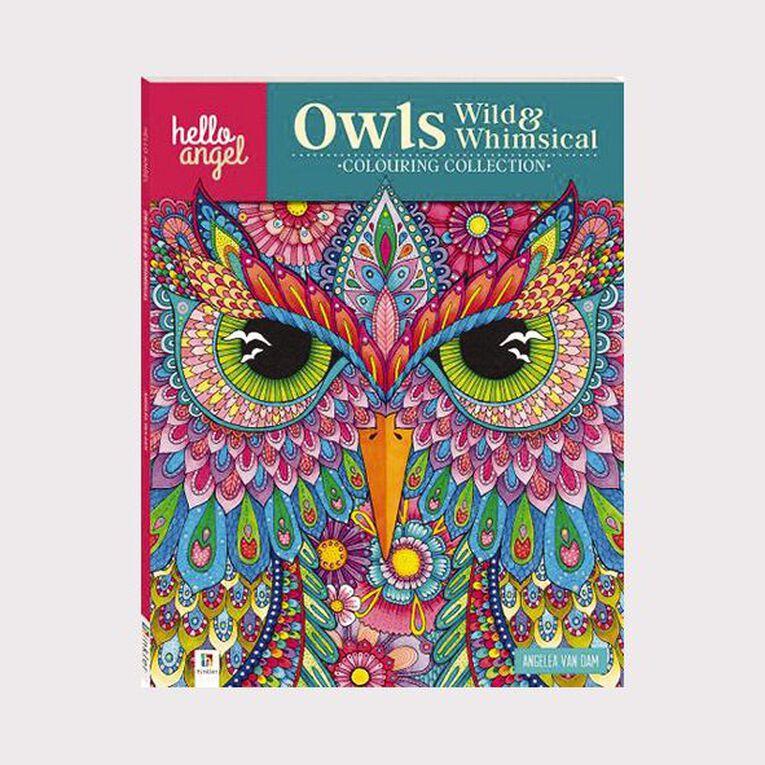 Hello Angel: Owls Wild & Whimsical, , hi-res