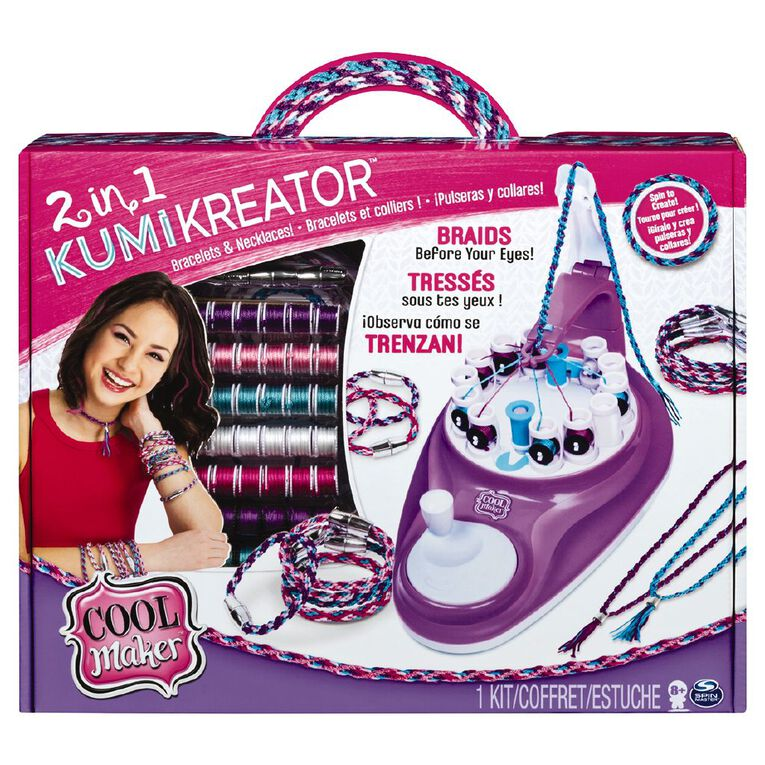 Cool Maker 2 in 1 Kumi Kreator, , hi-res