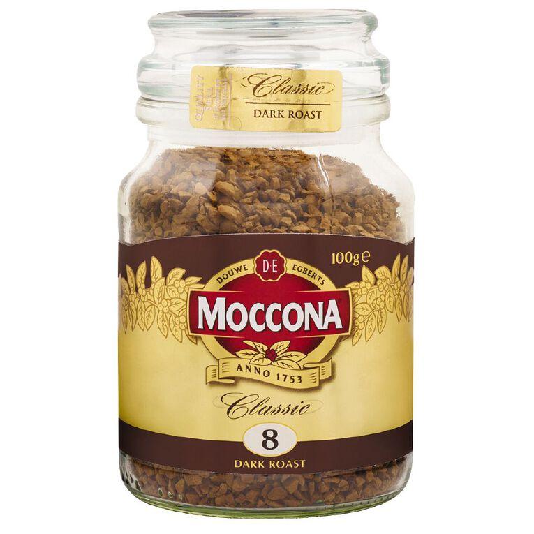 Moccona Freeze Dried Classic Dark Roast Jar 100g, , hi-res