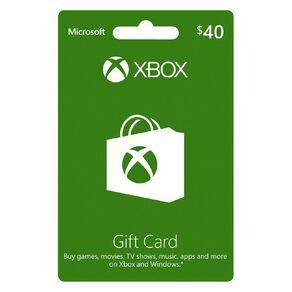 Xbox Live $40 Gift Card