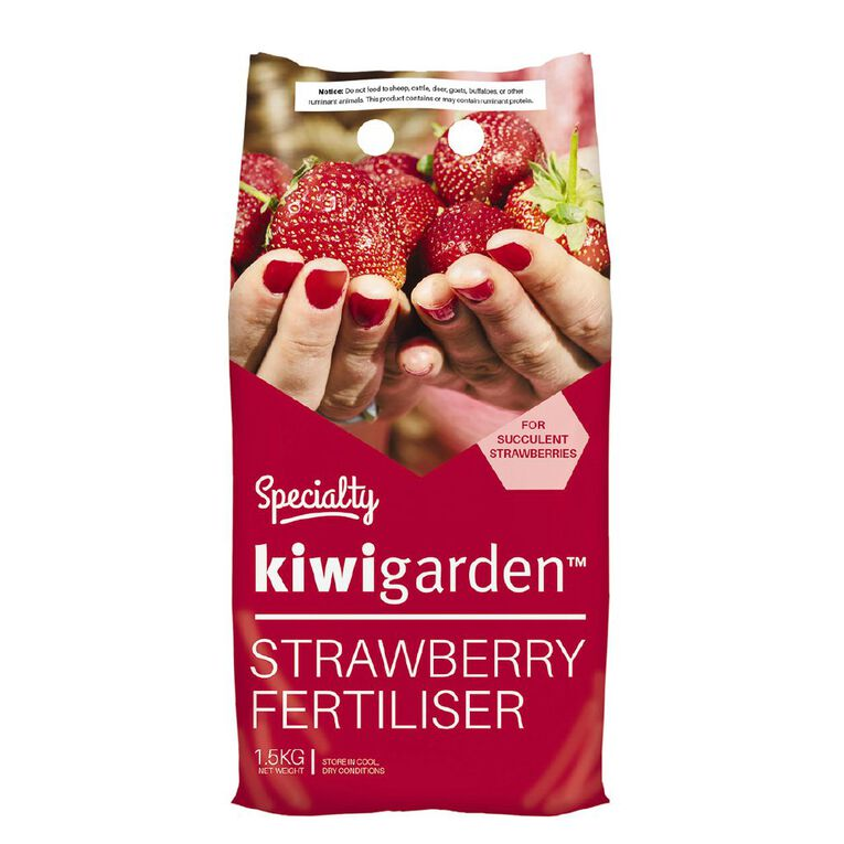 Kiwi Garden Specialty Strawberry Fertiliser 1.5kg, , hi-res