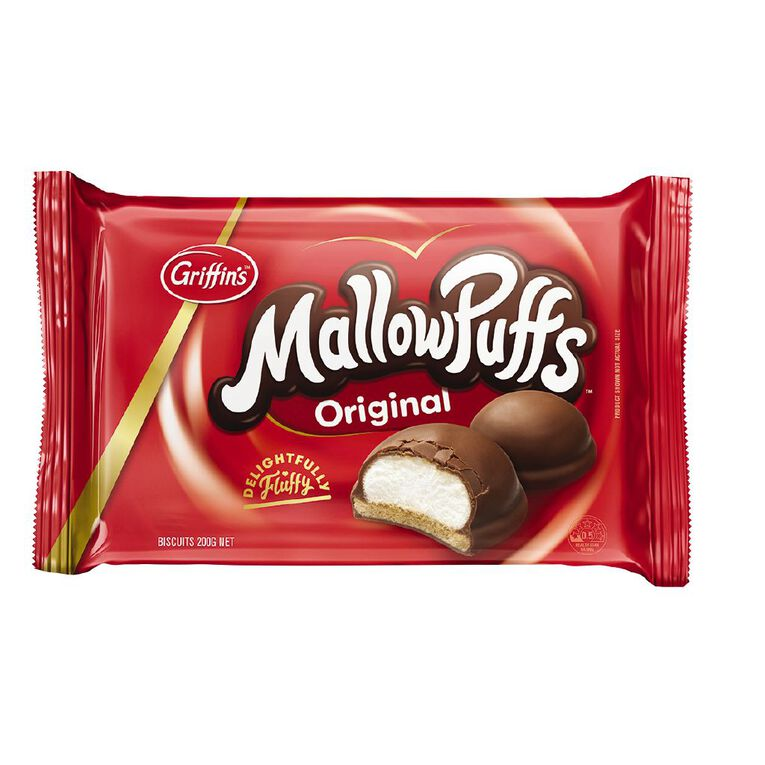 Griffin's Chocolate Mallowpuff Biscuits 200g, , hi-res
