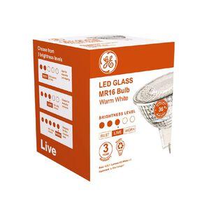 General Electric GU5.3 LED MR16 Reflector 4.5W Warm White Light Bulb
