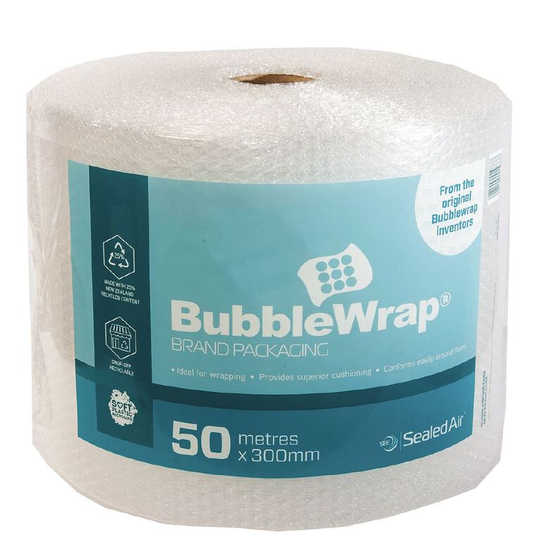 Sealed Air Recycled Bubble Wrap Roll 300Mm X 50M, , hi-res