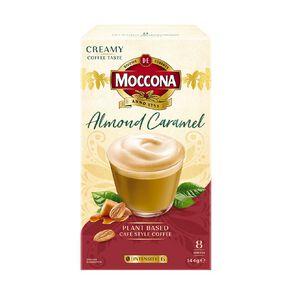 Moccona Almond Caramel Latte 8 Pack