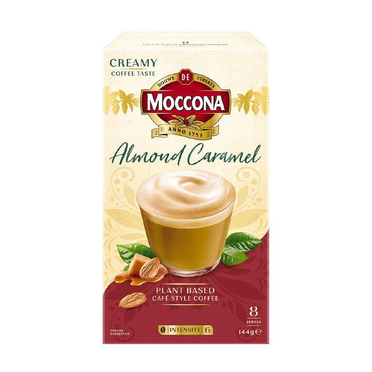 Moccona Almond Caramel Latte 8 Pack, , hi-res