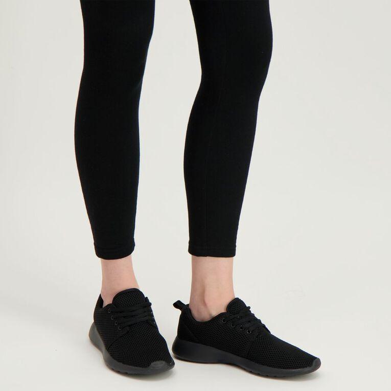 Active Intent Track Shoes, Black W21-22, hi-res