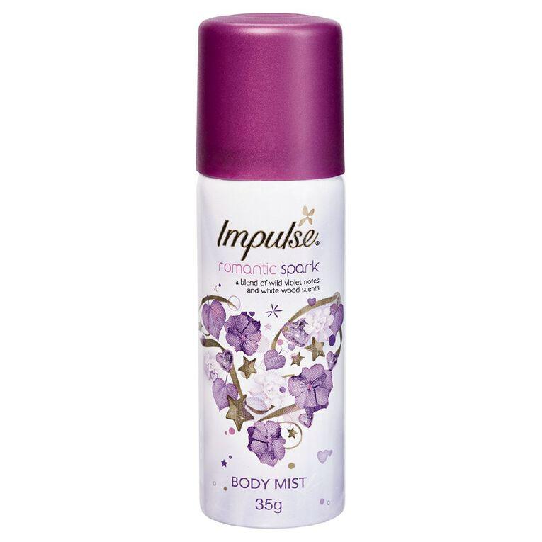 Impulse Romantic Spark Body Spray Mini 50ml, , hi-res