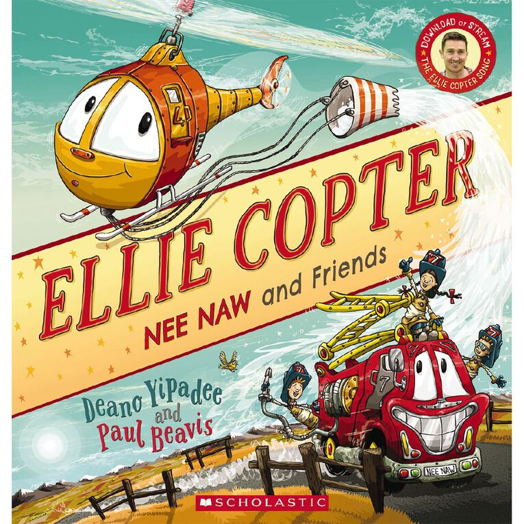 Ellie Copter: Nee Naw and Friends by Deano Yipadee, , hi-res