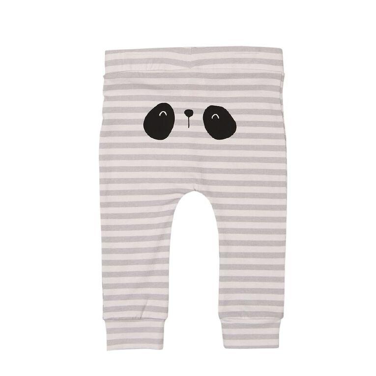 Young Original Baby Printed Leggings, White, hi-res