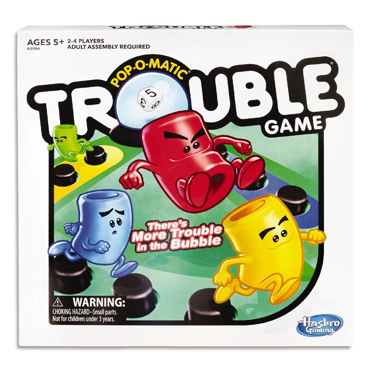 Trouble Board Game, , hi-res