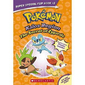 Pokemon Kalos Region: The Secret of Zygarde