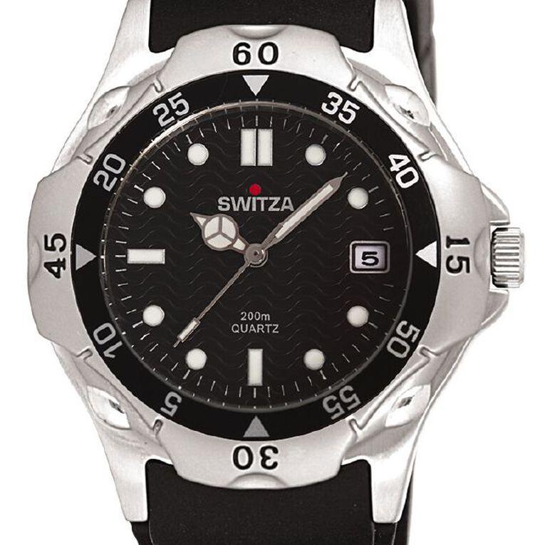 Switza Men's Sports Watch with Black Dial, , hi-res
