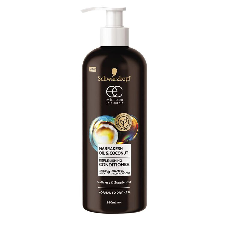Schwarzkopf Extra Care Marrakesh Oil & Coconut Conditioner 950mL, , hi-res