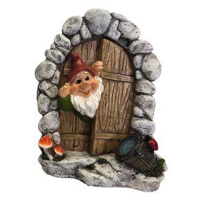 Kiwi Garden Gnome Door 21.5cm Assorted
