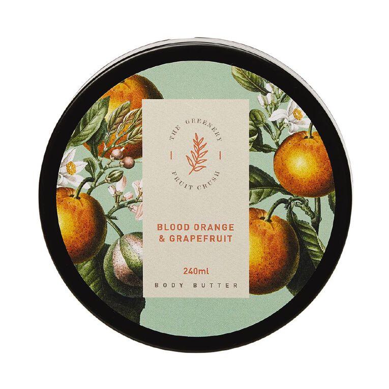Winter Fruit Blood Orange And Grape Fruit Body Butter 200ml, , hi-res