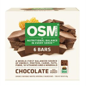 One Square Meal Chocolate with Manuka Honey 6 Pack 495g