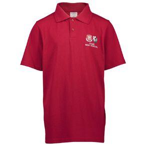Schooltex Kamo High Short Sleeve Polo with Embroidery