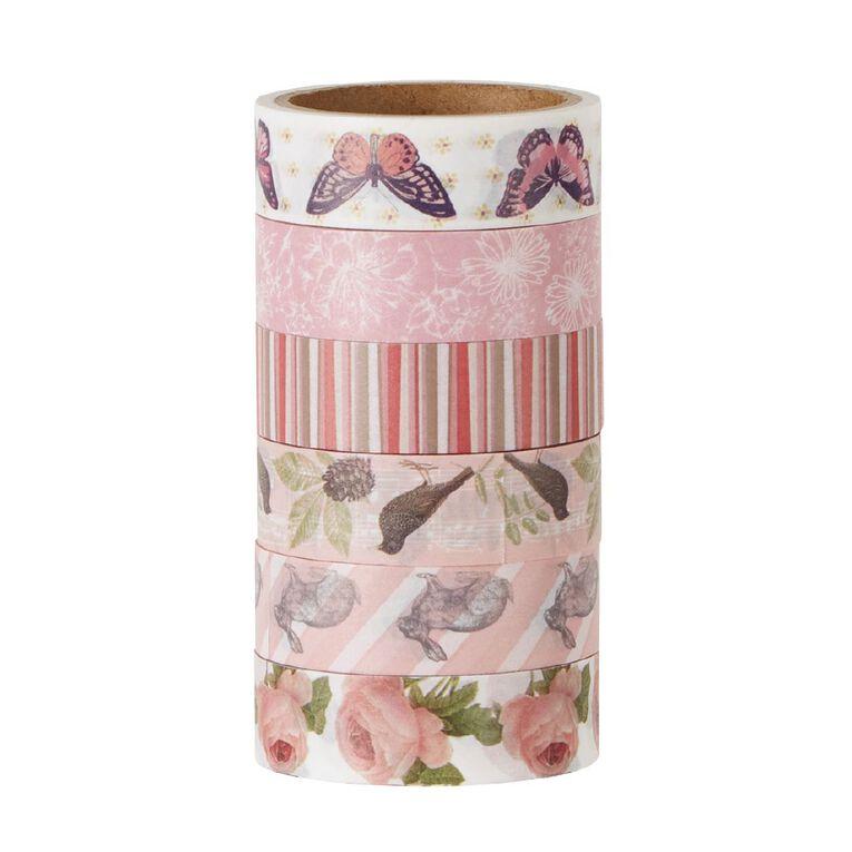Uniti Washi Tape 6 Pack Floral, , hi-res