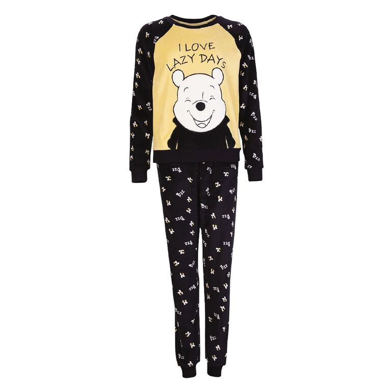 Disney Women's Winnie The Pooh Twosie Pyjama, Yellow, hi-res