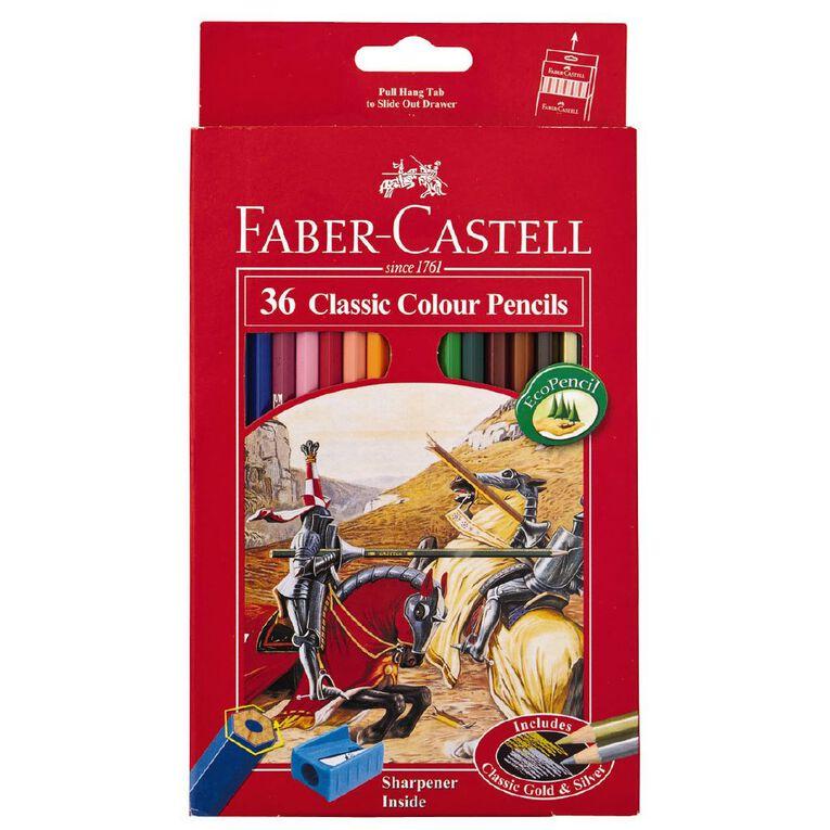 Faber-Castell Classic Colour Pencils 36 Pack, , hi-res