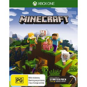 XboxOne Minecraft Starter Collection