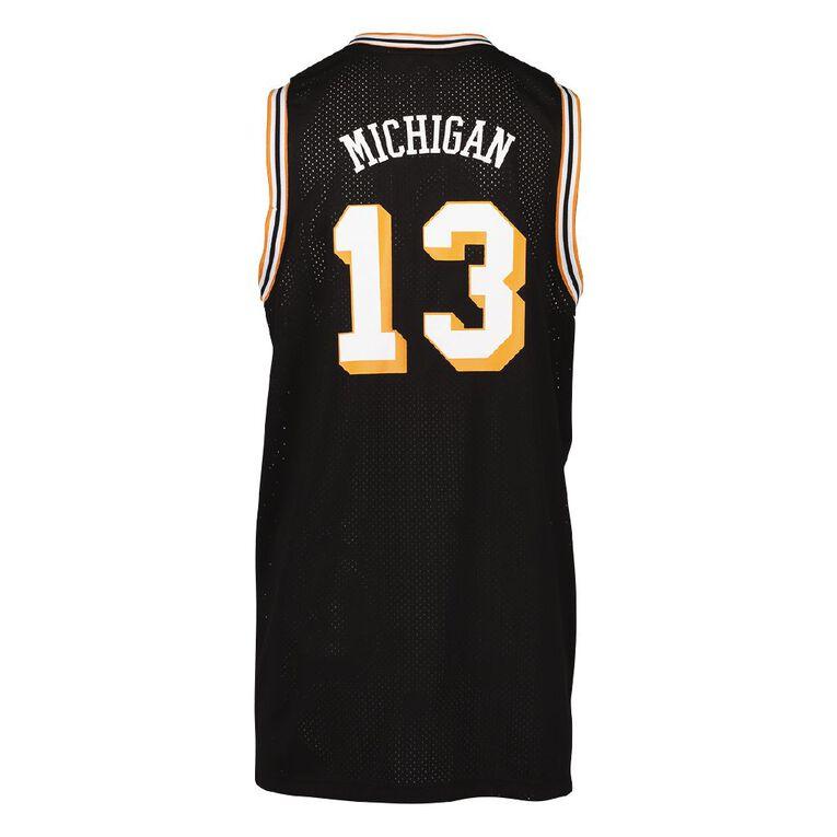 Active Intent Men's Basketball Singlet, Black, hi-res image number null