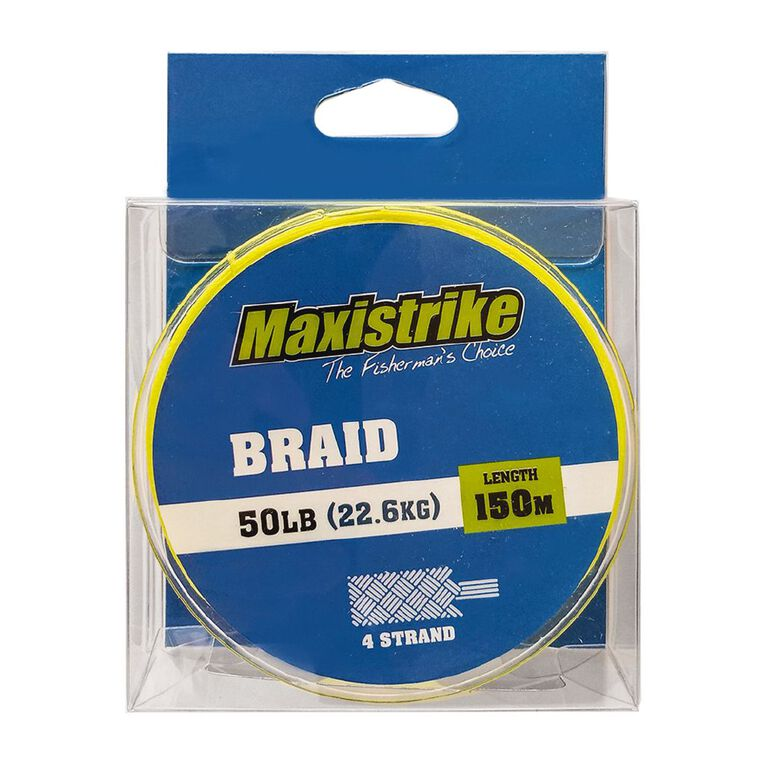 Maxistrike Braid 50lb 150m, , hi-res