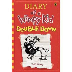 Diary of a Wimpy Kid #11 Double Down by Jeff Kinney N/A