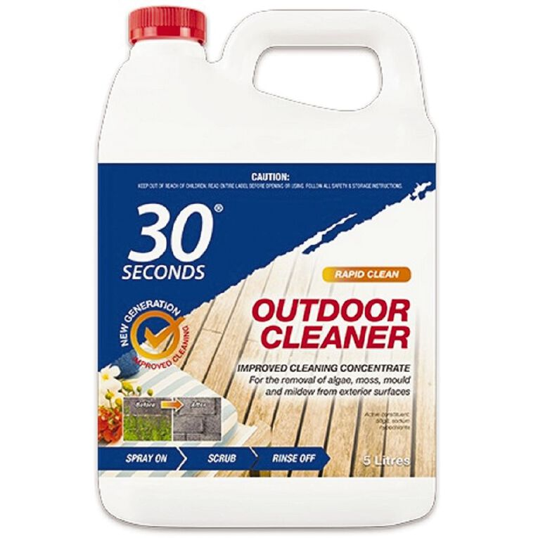 30 Seconds Outdoor Cleaner Concentrate 5L, , hi-res